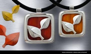Ruska-kaulakoru, design Sami Viitasaari