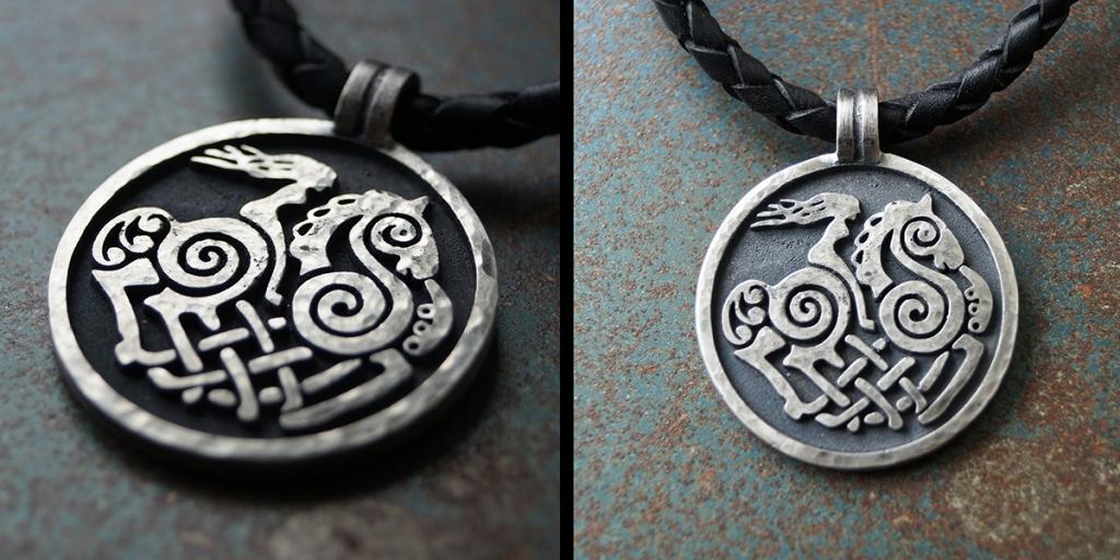 Sleipnir-koru, hopeaa